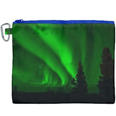 Aurora Borealis Northern Lights Canvas Cosmetic Bag (xxxl)