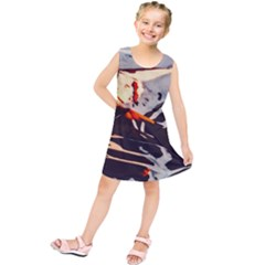 Iceland Landscape Mountains Snow Kids  Tunic Dress