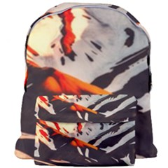 Iceland Landscape Mountains Snow Giant Full Print Backpack by BangZart