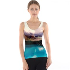 Austria Mountains Lake Water Tank Top