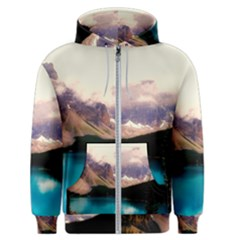 Austria Mountains Lake Water Men s Zipper Hoodie