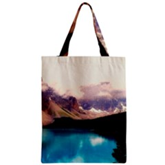 Austria Mountains Lake Water Zipper Classic Tote Bag