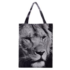 Africa Lion Male Closeup Macro Classic Tote Bag by BangZart