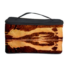France Snow Winter Sunrise Fog Cosmetic Storage Case by BangZart