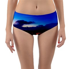 The Hague Netherlands City Urban Reversible Mid Waist Bikini Bottoms