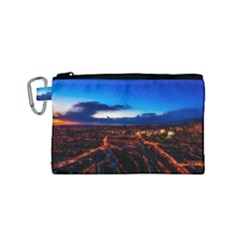 The Hague Netherlands City Urban Canvas Cosmetic Bag (small)