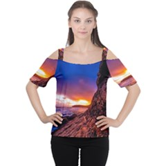 South Africa Sea Ocean Hdr Sky Cutout Shoulder Tee
