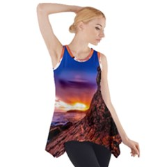 South Africa Sea Ocean Hdr Sky Side Drop Tank Tunic