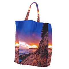South Africa Sea Ocean Hdr Sky Giant Grocery Zipper Tote