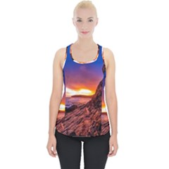 South Africa Sea Ocean Hdr Sky Piece Up Tank Top