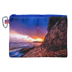 South Africa Sea Ocean Hdr Sky Canvas Cosmetic Bag (xl)