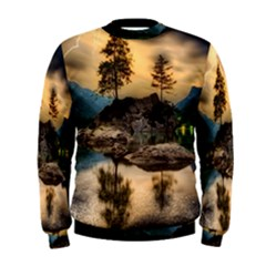 Sunset Dusk Sky Clouds Lightning Men s Sweatshirt