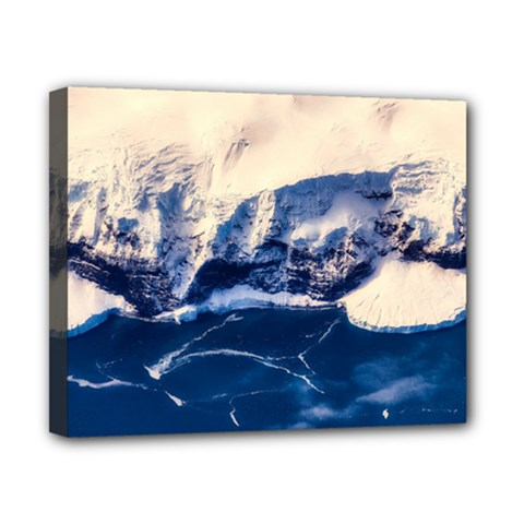 Antarctica Mountains Sunrise Snow Canvas 10  x 8