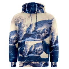 Antarctica Mountains Sunrise Snow Men s Pullover Hoodie