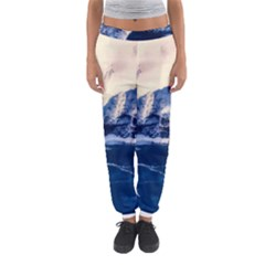 Antarctica Mountains Sunrise Snow Women s Jogger Sweatpants