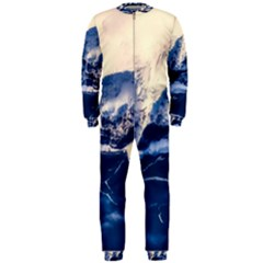 Antarctica Mountains Sunrise Snow OnePiece Jumpsuit (Men)