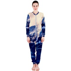Antarctica Mountains Sunrise Snow OnePiece Jumpsuit (Ladies)