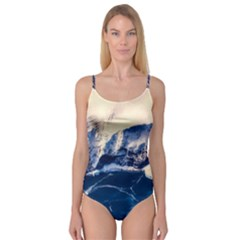 Antarctica Mountains Sunrise Snow Camisole Leotard
