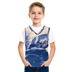 Antarctica Mountains Sunrise Snow Kids  Sportswear