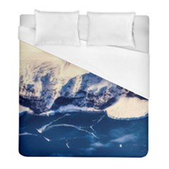 Antarctica Mountains Sunrise Snow Duvet Cover (Full/ Double Size)