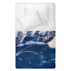 Antarctica Mountains Sunrise Snow Duvet Cover (Single Size)