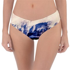 Antarctica Mountains Sunrise Snow Reversible Classic Bikini Bottoms