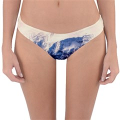 Antarctica Mountains Sunrise Snow Reversible Hipster Bikini Bottoms