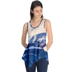 Antarctica Mountains Sunrise Snow Sleeveless Tunic
