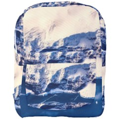 Antarctica Mountains Sunrise Snow Full Print Backpack