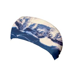 Antarctica Mountains Sunrise Snow Yoga Headband