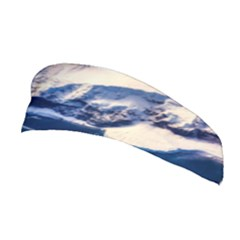 Antarctica Mountains Sunrise Snow Stretchable Headband