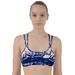 Antarctica Mountains Sunrise Snow Line Them Up Sports Bra