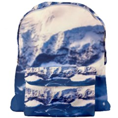 Antarctica Mountains Sunrise Snow Giant Full Print Backpack