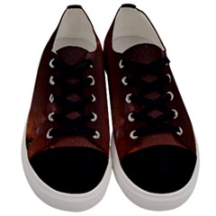 Italy Night Evening Stars Men s Low Top Canvas Sneakers