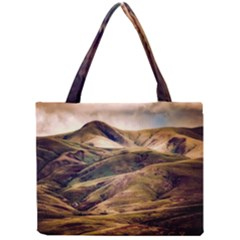 Iceland Mountains Sky Clouds Mini Tote Bag by BangZart