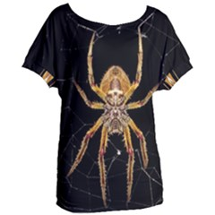 Insect Macro Spider Colombia Women s Oversized Tee