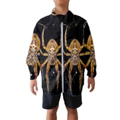 Insect Macro Spider Colombia Wind Breaker (kids)