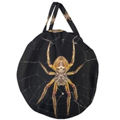 Insect Macro Spider Colombia Giant Round Zipper Tote