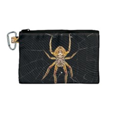 Insect Macro Spider Colombia Canvas Cosmetic Bag (medium)