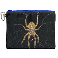 Insect Macro Spider Colombia Canvas Cosmetic Bag (xxl) by BangZart