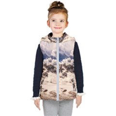Italy Landscape Mountains Winter Kid s Puffer Vest