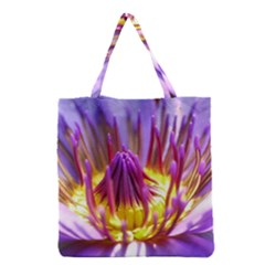 Flower Blossom Bloom Nature Grocery Tote Bag by BangZart