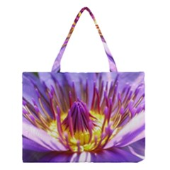 Flower Blossom Bloom Nature Medium Tote Bag by BangZart