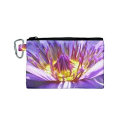 Flower Blossom Bloom Nature Canvas Cosmetic Bag (small)