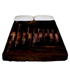 Viaduct Structure Landmark Historic Fitted Sheet (queen Size)