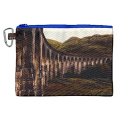 Viaduct Structure Landmark Historic Canvas Cosmetic Bag (xl)