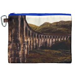 Viaduct Structure Landmark Historic Canvas Cosmetic Bag (xxl)