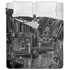 Venice Italy Gondola Boat Canal Duvet Cover Double Side (california King Size)