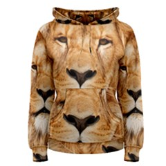 Africa African Animal Cat Close Up Women s Pullover Hoodie
