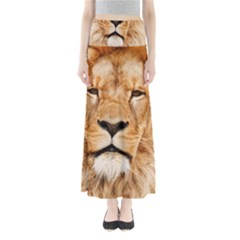 Africa African Animal Cat Close Up Full Length Maxi Skirt